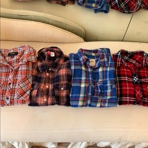 Bundle of flannels